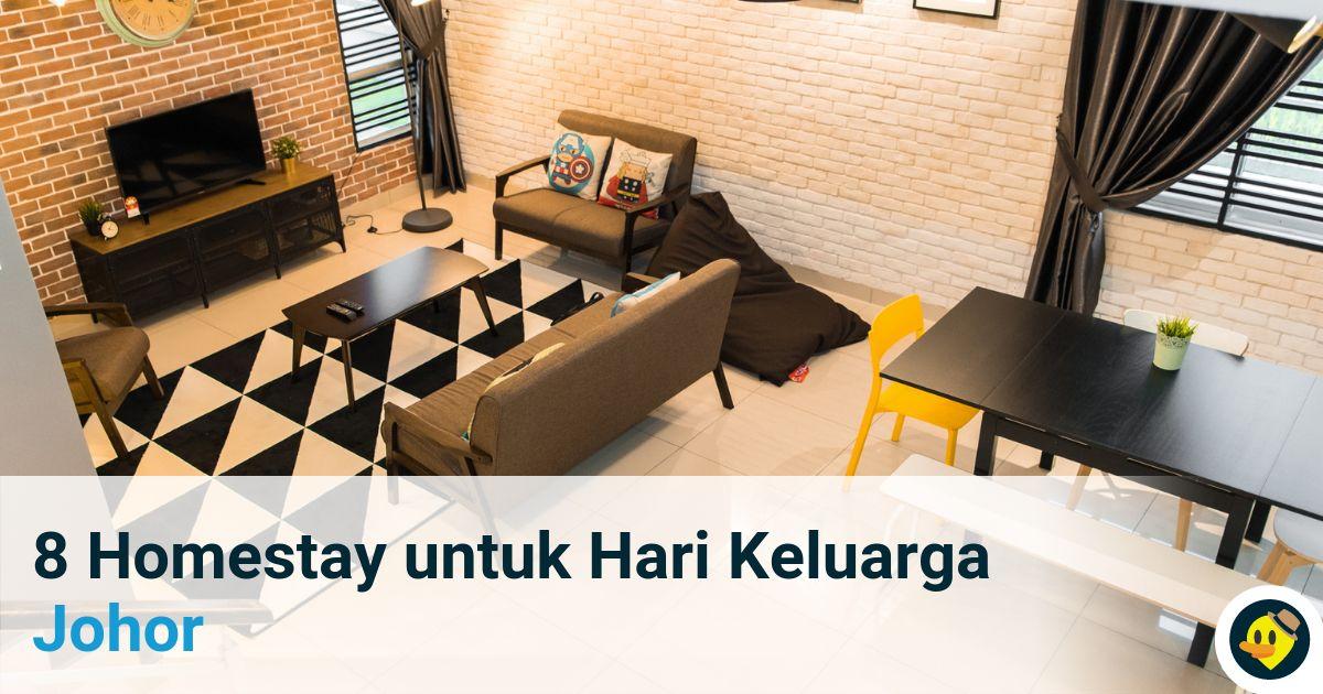 8 Homestay Yang Sesuai Untuk Keluarga Di Johor Featured Image