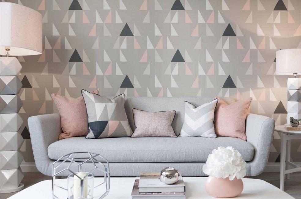 Kertas dinding terang untuk bilik dengan cahaya yang sedikit