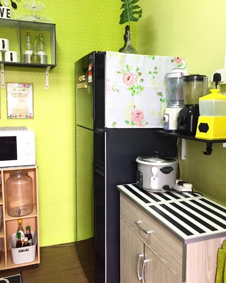 Cara Untuk Hiasan Dapur Rumah Flat Terhebat Guna Perabot Basic Untuk Dapur Sempit Tapi Ini Hasilnya Impiana