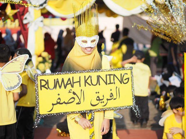 Ketua Sepanduk perbarisan untuk kuning