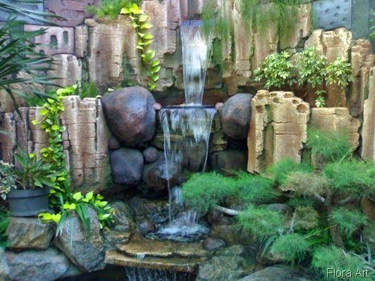 Cara Untuk Hiasan Laman Rumah Hebat Open Minda Hiasan Taman Lanskap Kolam Air Terjun