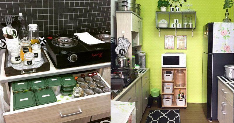 Guna Perabot Basic Untuk Dapur Sempit Tapi Ini Hasilnya