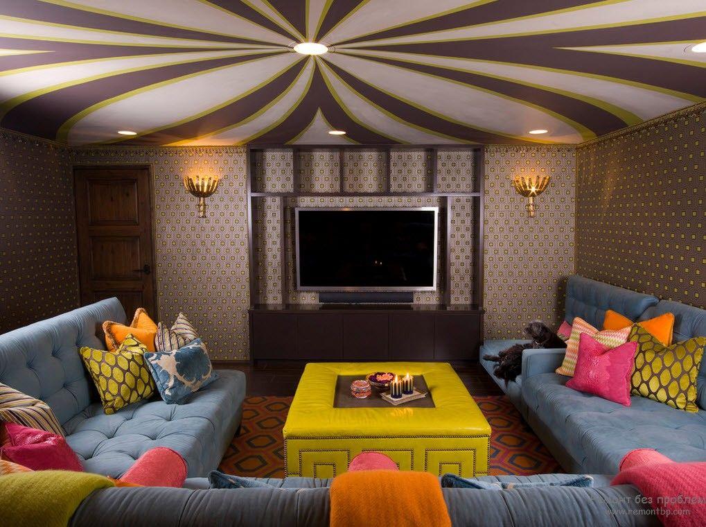 Cara Untuk Hiasan Ruang Tamu Rumah Flat Baik Siling Lantai Dua Tingkat Di Ruang Tamu 50 Foto Reka Bentuk 2018