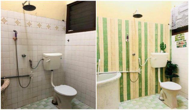 Dekorasi bilik air