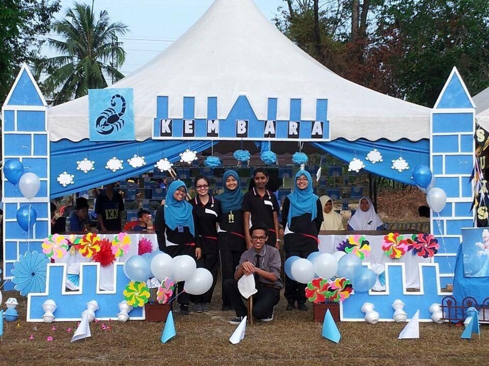 Tahniah buat sukan Kembara menang hiasan khemah terbaik sempena Kejohanan Balapan & Padang Kali