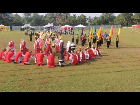 Cara Untuk Hiasan Rumah Sukan Merah Bernilai Perbarisan Rumah Garuda Merah Hari Sukan Seratas 2016