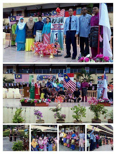 Cara Untuk Hiasan Rumah Sukan Merah Penting Sekolah Menengah Kebangsaan Bukit Baru Bahasa Melayu