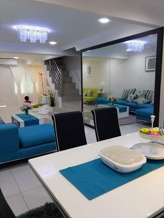 Cara Untuk Hiasan Rumah Teres 2 Tingkat Bermanfaat Deco Ruang Tamu Rumah Teres Kos Rendah