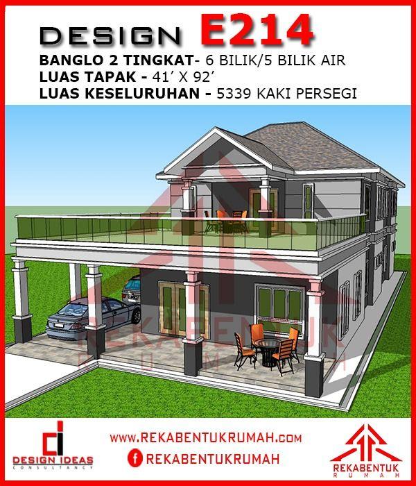 Cara Untuk Hiasan Rumah Teres 2 Tingkat Hebat Design Rumah 6 Bilik Archives Rekabentuk