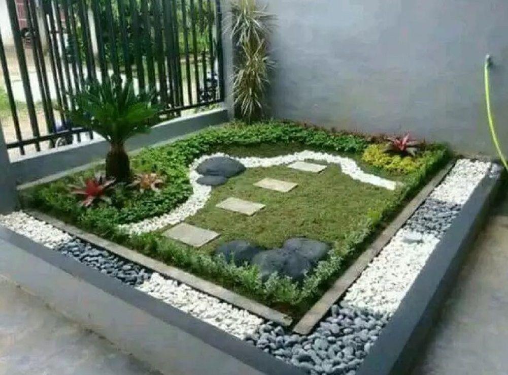 Cara Untuk Hiasan Taman Rumah Terhebat √ 45 Dekorasi Taman Minimalis Sederhana Unik & Cantik