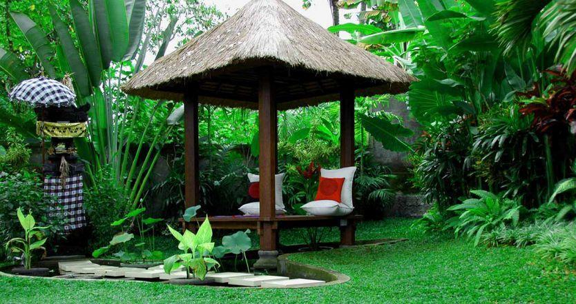 Cara Untuk Konsep Bali Hiasan Dalaman Power Eksotisme Taman Tradisional Bali