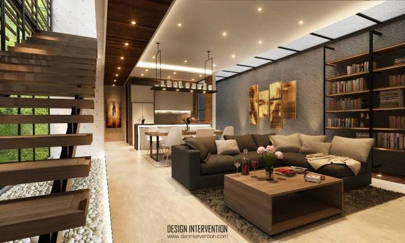 Arsitektur mungil tapi mewah di J House at Gading Serpong karya DESIGN INTERVENTION menerapkan