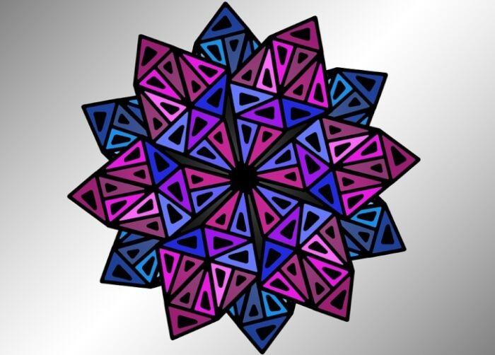 Cara Untuk Rekabentuk Dekorasi Hiasan Dalaman Terbaik Bernilai 30 Motif Geometris Yang Sederhana Mudah Dan Elegan Lengkap