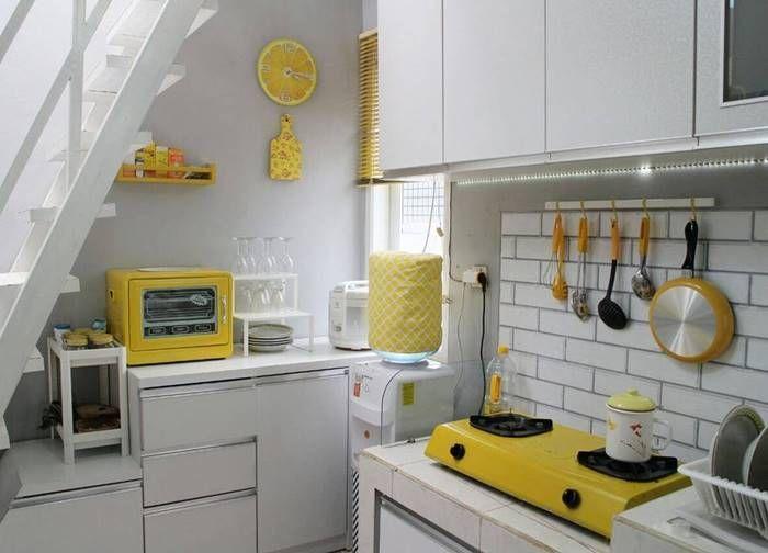 3 Komposisi Peralatan Dapur sebagai Bagian dari Interior Shabby Chic