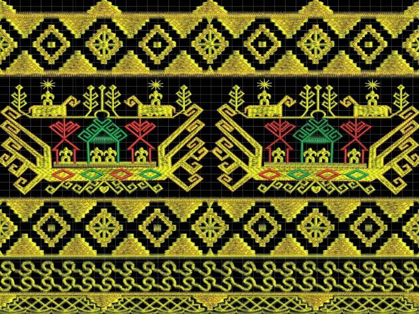 30 Motif Ragam Hias Flora Fauna Geometris Nusantara Lengkap · Seni rupa