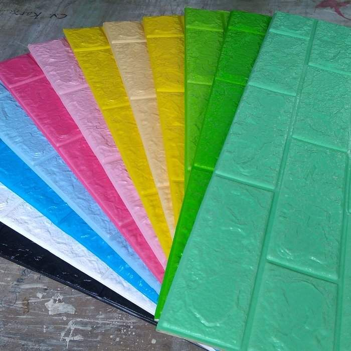 Cara Untuk Susun atur Hari Raya Power Cek Harga Line Grosir Wallpaper Foam White Brick 3d Emboss Bata