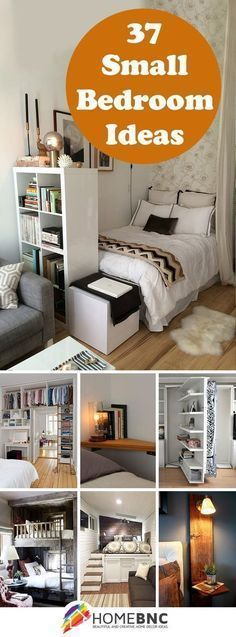 Some of these are phenomenal Small Bedroom Designs