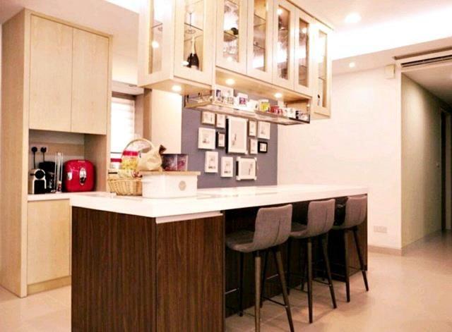 Cara Untuk Susun atur Menarik Dapur Rumah Flat Bermanfaat Suasana On Invaber Cara Lain Bagi Menggunakan Kertas Idea
