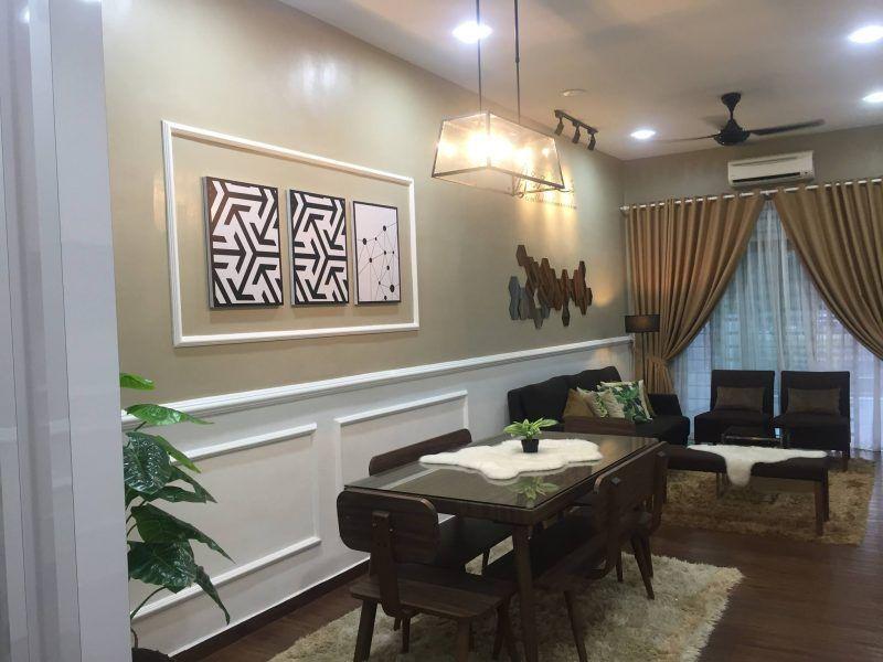 Cara Untuk Susun atur Menarik Dapur Rumah Flat Meletup Gambar Wanita Ini Buktikan Ruang Tamu Memanjang Boleh Nampak Luas