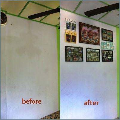 Cara Untuk Susun atur Menarik Dinding Rumah Power Deko Raya Mrs Pip