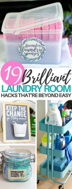 19 Life Changing Laundry Room Hacks That ll Clean and Organize