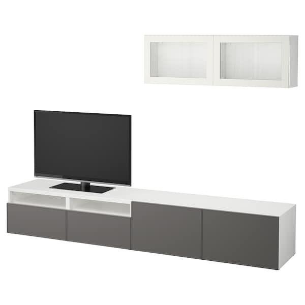 Cara Untuk Susun atur Menarik Laman Rumah Teres Terhebat Best… Kombinasi Storan Tv Pintu Kaca Ikea