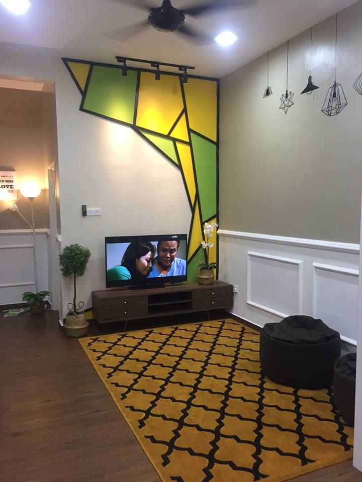 Cara Untuk Susun atur Menarik Luar Rumah Meletup Gambar Wanita Ini Buktikan Ruang Tamu Memanjang Boleh Nampak Luas