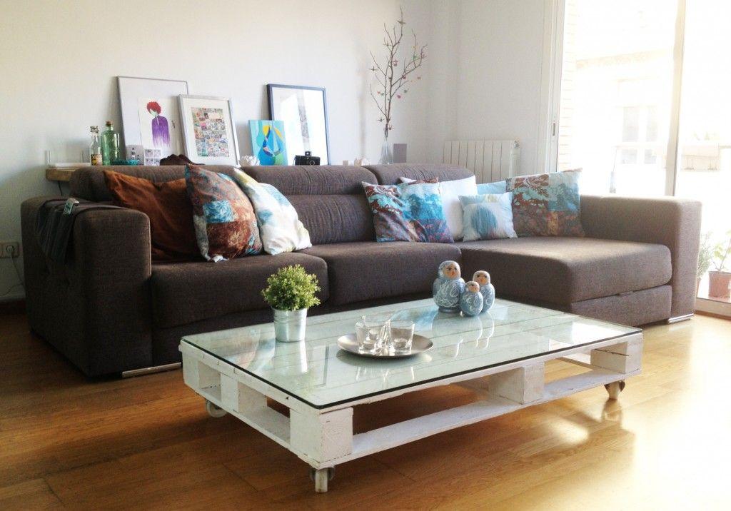 Cara Untuk Susun atur Menarik Ruang Tamu Rumah Flat Berguna 21 Idea Perabot Berasaskan Kayu Pallet Inspirasi D I Y Murah Dan