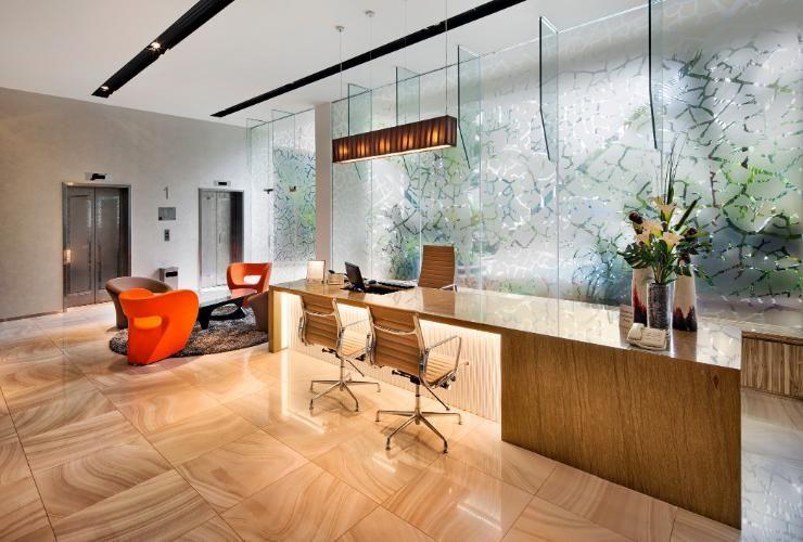 Cara Untuk Susun atur Menarik Ruang Tamu Rumah Taman Berguna orange Grove Serviced Residences orchard Singapura