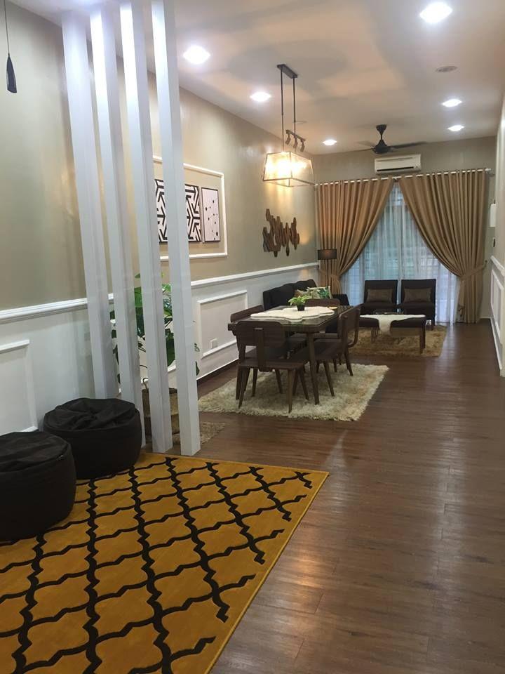 Cara Untuk Susun atur Menarik Ruang Tamu Rumah Teres Setingkat Penting Gambar Wanita Ini Buktikan Ruang Tamu Memanjang Boleh Nampak Luas