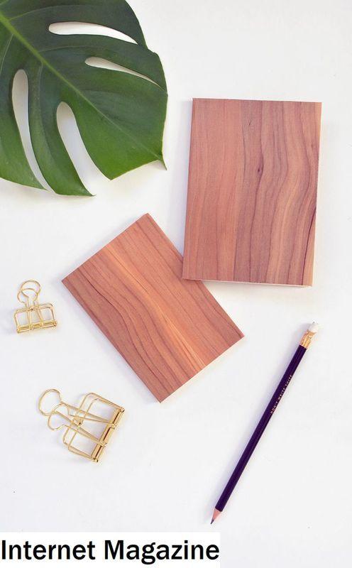 Notebook Kayu DIY