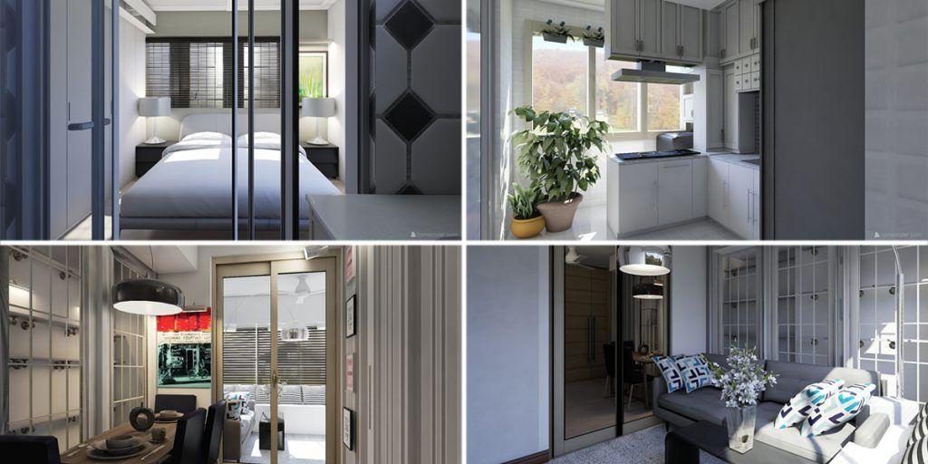 Cara Untuk Susun atur Menarik Rumah Hitam Putih Hebat Apartment 500 Kaki Persegi Jangan Khuatir Ikuti 5 Tip Interior