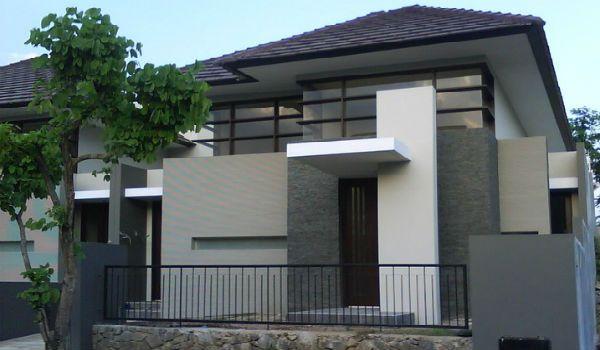 contoh eksterior minimalis 1