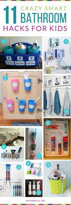 nice Idée décoration Salle de bain Genius Hacks for an Organized Bathroom