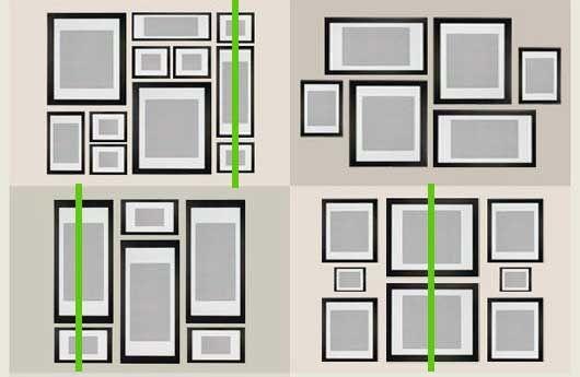 Tengah belajar nak susun frame gambar di dinding DekoRaya