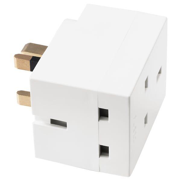 Cara Untuk Susun atur Pejabat Hebat Koppla Plag Penyesuai 3 Cara Putih Ikea