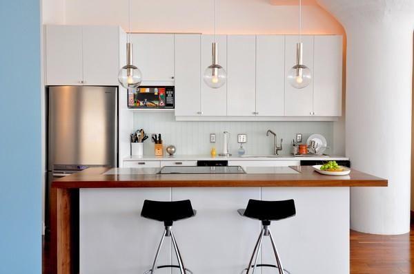 38 Idea Dekorasi Dapur Untuk Apartment Dan Inium Yang Kecil