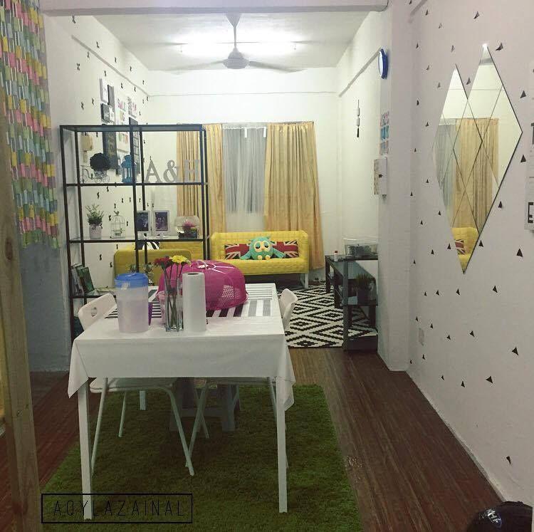 Cara Untuk Susun atur Ruang Tamu Rumah Teres Bermanfaat Dekorasi Menarik Gaya Ikea Di Rumah Flat Dengan Bajet Minima
