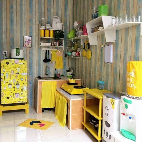 Dekorasi Dapur Shabby Chic yang Maksimal