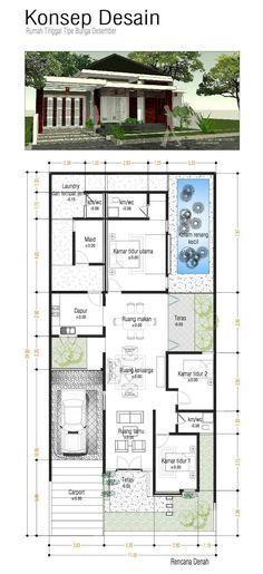 Pelan Lantai Rumah Kasut Rata