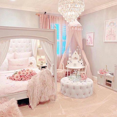 Idea dekorasi bilik tidur princess anda Cantik tak Jom follow ig kami untuk idea