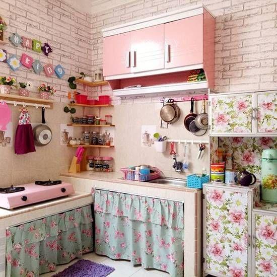 dapur shabby chic 3 sabine