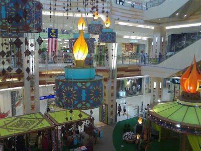 7 Dekorasi Hari Raya yang Meriah di Shopping Mall Utama di Malaysia
