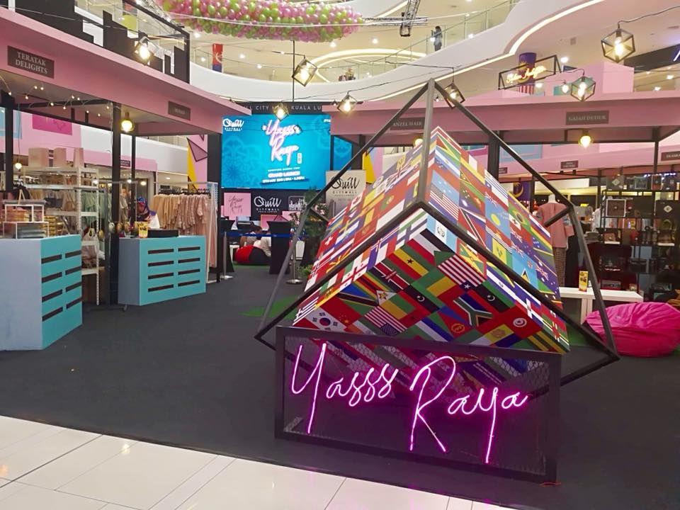 Sempena bulan Ramadhan dan sambutan Hari Raya Aidilfitri Quill City Mall KL akan mengadakan Yasss Raya 2018 bermula dari 17 Mei 2018 hingga 12 Jun 2018