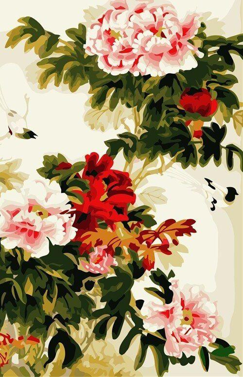 Dekorasi Hiasan Dalaman Terbaik Lukisan Power ④frameless Wall Art Gambar Tangan Minyak Diy Lukisan Dengan Nomor