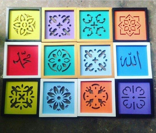 Dekorasi Hiasan Dalaman Terbaik Masjid Power Hiasan Dinding Kaligrafi Arab Untuk Dekorasi Rumah – Global Wood Craft