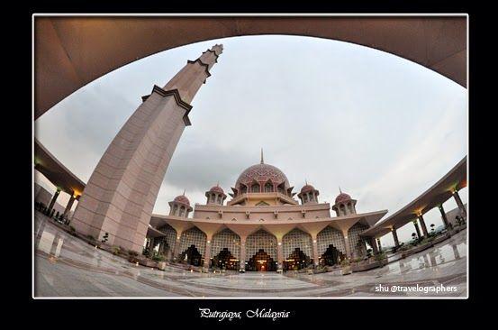 putrajaya malaysia kuala lumpur bandar taman bandar bestari putrajaya sentral Masjid Putra