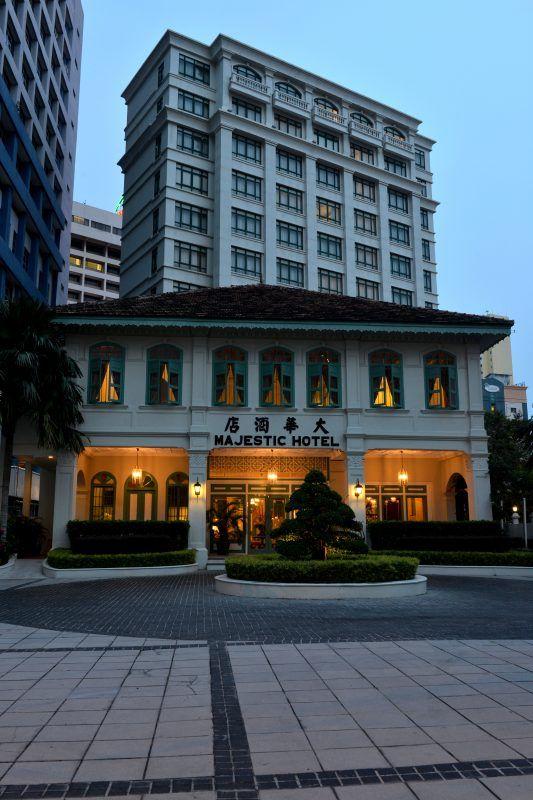 Buat pengunjung yang pertama kali tiba di hotel ini anda pasti kagum melihat seni bina bangunan lama yang masih tersergam indah dengan identiti tersendiri