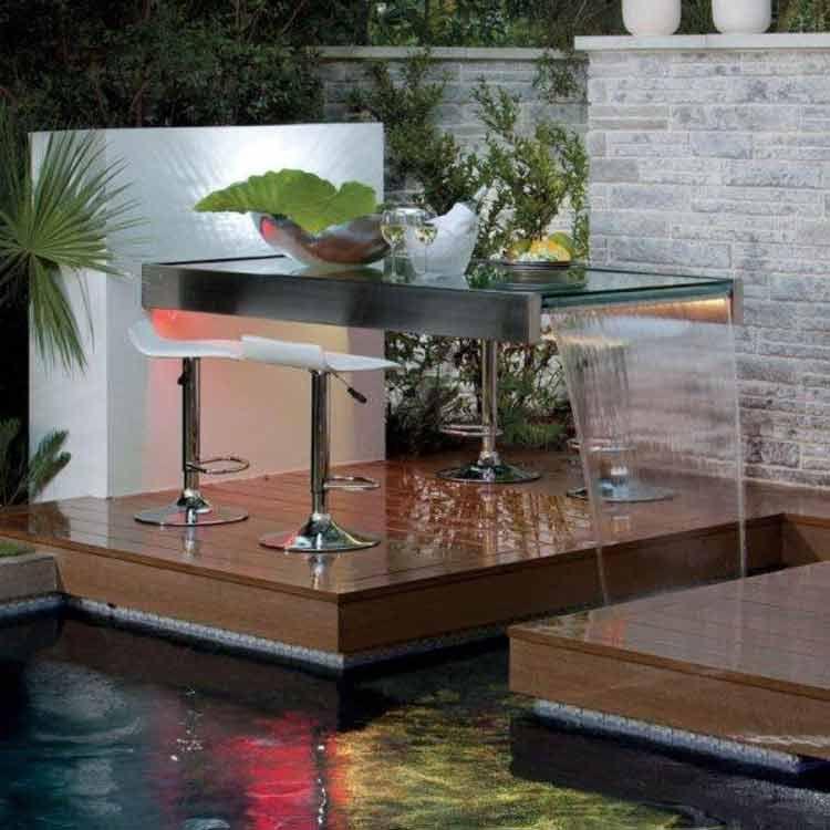 Dekorasi Hiasan Dalaman Terbaik Melaka Power √ 30 Desain Kolam Ikan Minimalis Di Depan Dan Dalam Rumah