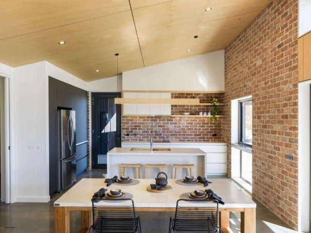 Dekorasi Hiasan Dalaman Terbaik Ruang Tamu Moden Kontemporari Meletup Gambar Model Dapur Minimalis Modern Desain Rumah Modern